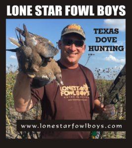 LONESTAR FOWL BOYS Dove Hunting 1B