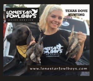 LONESTAR FOWL BOYS Dove Hunting 1D